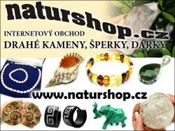 Naturshop.cz -  internetový obchod levné šperky, dárky, drahé kameny